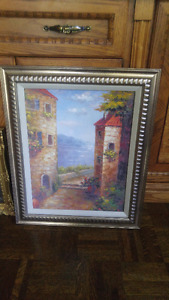 Beautiful vintage frame 24 by 20 inches