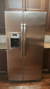 REDUCED! GE Stainless Steel Appliances Fridge Stove & Dishwasher