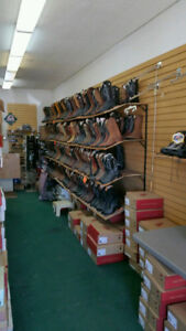 Clearance of remaining stock.  Cowboy boots and work boots sale