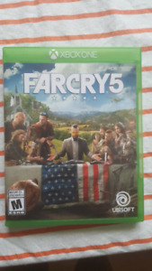 Far cry 5 for Xbox One, 35$