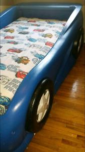 Twin car bed mattress not incl