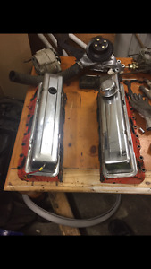 Sbc parts headers heads intake valve covers