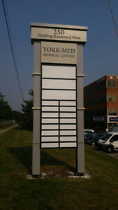 Pylon Signs - Channel Letters - Custom Fabricators