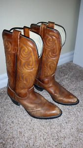 Brown (Rusty) - Leather Cowboy Boots