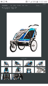 Chinook double jogger by Thule/Chariot