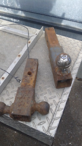 heavy duty trailer hitch draw bars with balls