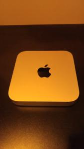 2014 Apple mini.   1.5gb video 4gb ram 256gb ssd