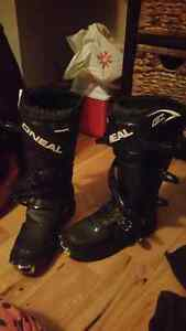 Dirt bike boots ! Worn once !
