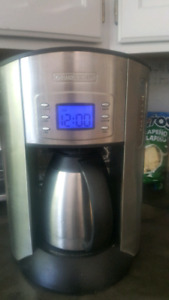 Stainless Black and Decker coffee makee