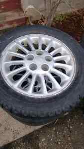 Gm rims mags winter tires