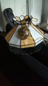 Lampe suspendue Tiffany