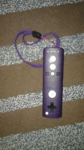 Purple Wii Controller  ( Without Nun Chuk)