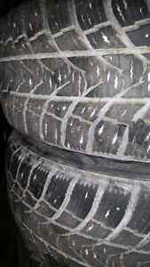 Winter tires 5x100 bolt pattern.  195/65r15  Cambridge Kitchener Area image 2