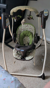 Graco swing/bouncy chair