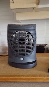 garrison oscillating fan heater manual