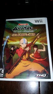 Avatar The Last Airbender The Burning Earth Nintendo Wii