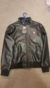Mens medium leather jacket