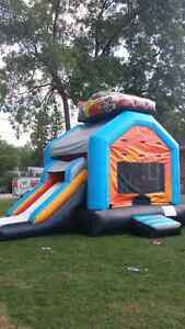 21'×15' FEET COMMERCIAL GRADE RACE CAR BOUNCY CASTLE SLIDE COMBO