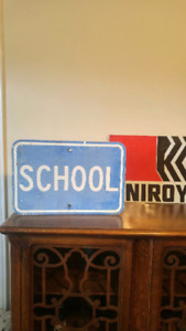 Old school sign $25