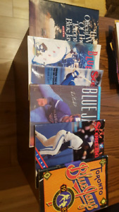 Old Toronto Blue Jays magazines