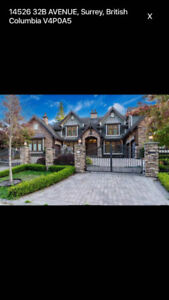 Luxury House for Rent in South Surrey