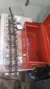 """2-24"""" JACK-SCREW CHAIN PIPE ALIGNMENT CLAMP IN BOX"""