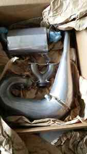 Slp m800 exhaust pipes