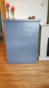 Antique Style Tallboy Dresser