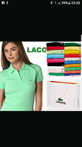 Ladies Lacoste polo shirts for sale