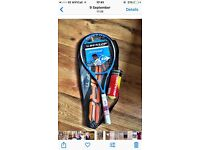 Brand new tennis equipment
