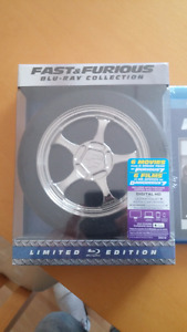 Fast et Furious Blu-Ray collection