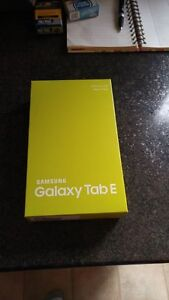 (BELL/VIRGIN) 16GB SAMSUNG GALAXY TAB E INCLUDES BOX + CHARGER