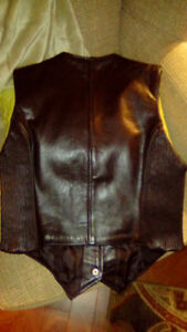 Leather Motorcycle Vest (Reduced)