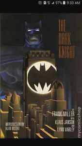 ***** THE DARK KNIGHT HC SIGNED & NUMBERED COMIC  BOOK *****
