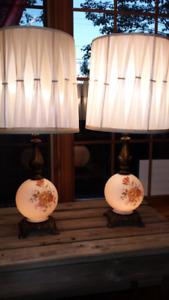 Vintage Table Lamps, L&L WMC 1973