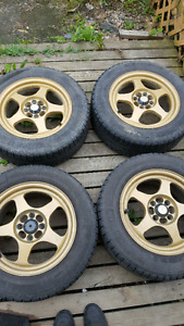 Michelin winter tires on 15inch rims very good condition