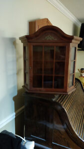 Curio Cabinet Wall Hung