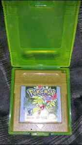 Pokemon Gold , Silver , Red , et édition spécial Crystal