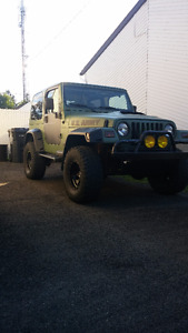 2002 Jeep TJ Sport Prix Négociable