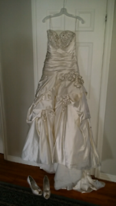 Couture Ivory Wedding dress