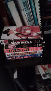 DON CHERRY ROCK AND SOCK EM  VHS