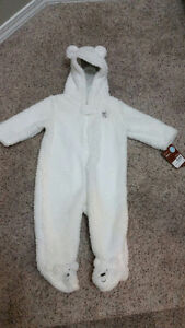 Brand New Carters Fleece Bunting - 6 Month Size - $15