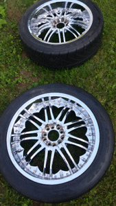 "Dodge 5bolt 20""rims and brand new tires"