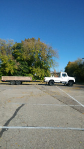 Truck. And trailer