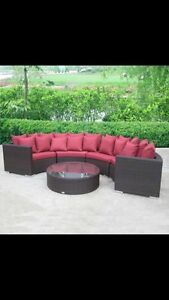 Beautiful Outdoor Wicker Sectional! UNBEATABLE PRICE! BRAND NEW!