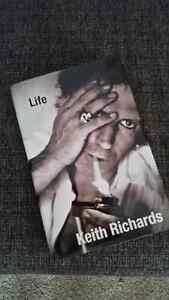 Life , by Keith Richards - Hardcover autobiograpy