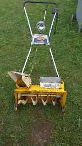 Older electric snow blower