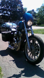 Gorgeous Frisco style bobber , low kms hurry won't last long