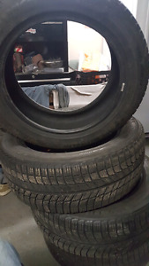 4 winter tires 215 55r17 .camry Michelin x ice tires