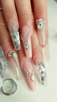 Instagram nail extension & nail arts like nothing else in Durham